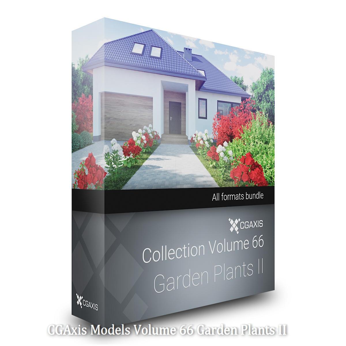 Download CGAxis Models Volume 66 Garden Plants II