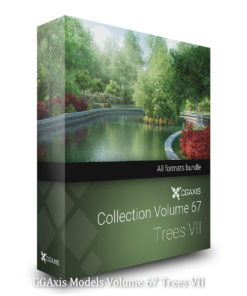 Download CGAxis Models Volume 67 Trees VII