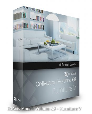 Download CGAxis Models Volume 68 – Furniture V