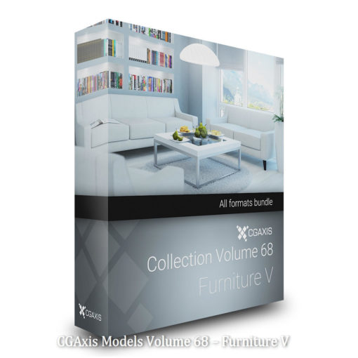 Download CGAxis Models Volume 68 – Furniture V