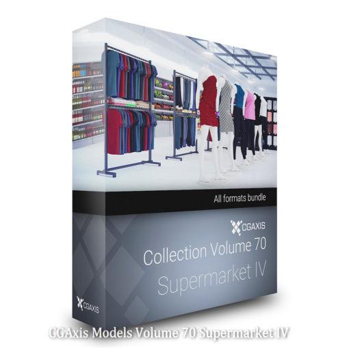 Download CGAxis Models Volume 70 Supermarket IV
