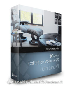 Download CGAxis Models Volume 75 Furniture VI