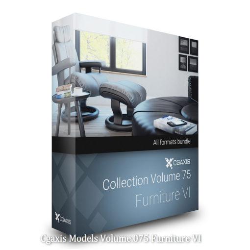 Download CGAxis Models Volume 75 Furniture VI
