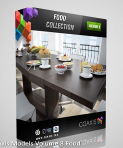 Download CGAxis Models Volume 8 Food