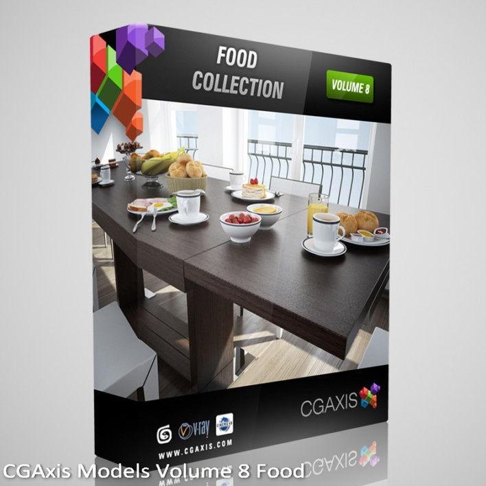 Download CGAxis Models Volume 8 Food