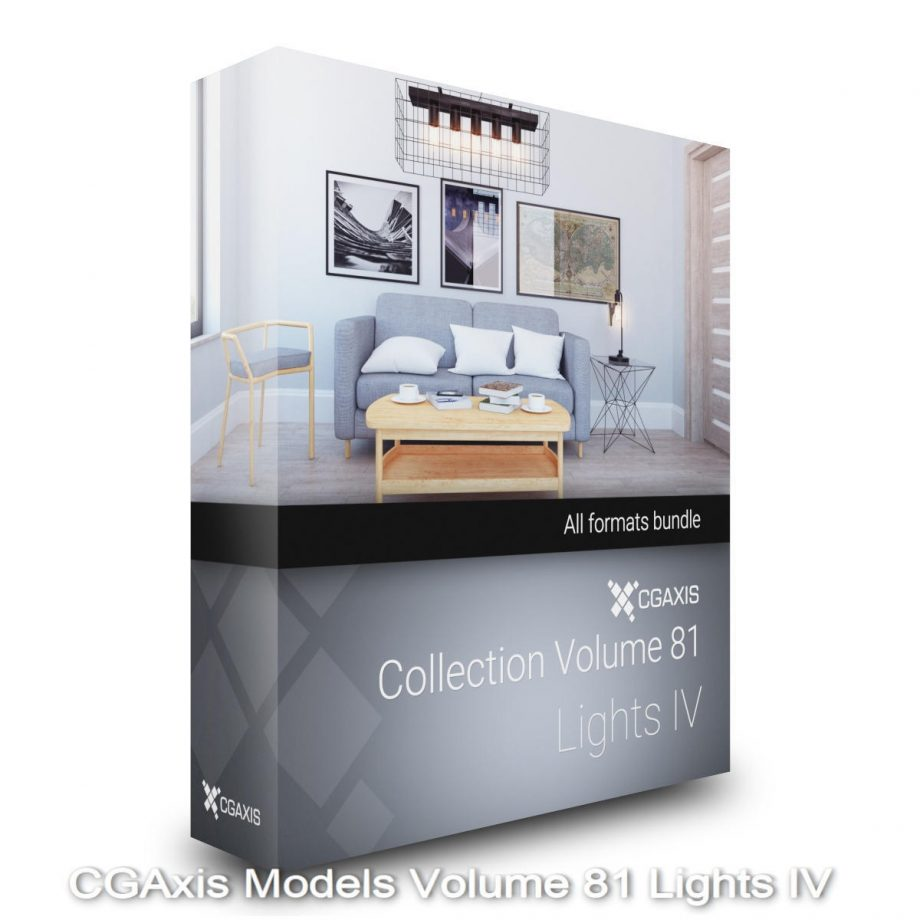 Download CGAxis Models Volume 81 Lights IV