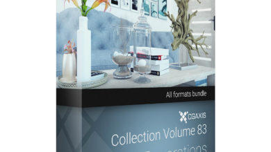 Download CGAxis Models Volume 83 Decorations