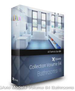 Download CGAxis Models Volume 84 Bathrooms III
