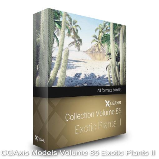Download CGAxis Models Volume 85 Exotic Plants II