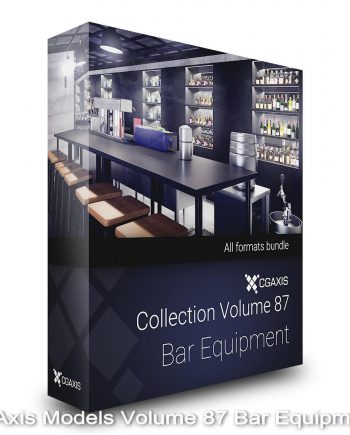 Download CGAxis Models Volume 87 Bar Equipment