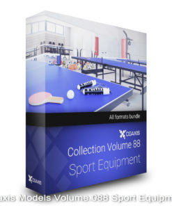 Download CGAxis Models Volume 88 Sport Equipment
