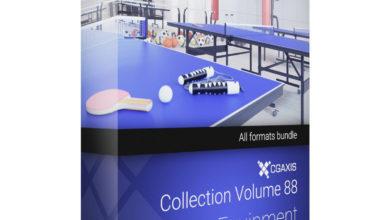Download CGAxis Models Volume 88 Sport Equipment