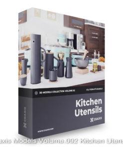 Download CGAxis Models Volume 92 Kitchen Utensils