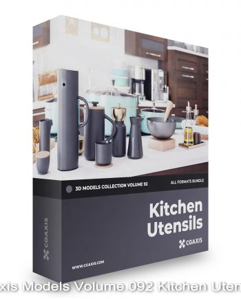Download CGAxis Models Volume 92 Kitchen Utensils