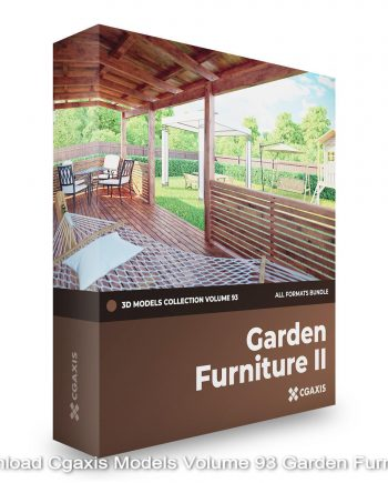 Download Cgaxis Models Volume 93 Garden Furniture