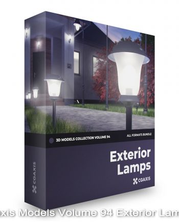 Download Cgaxis Models Volume 94 Exterior Lamps