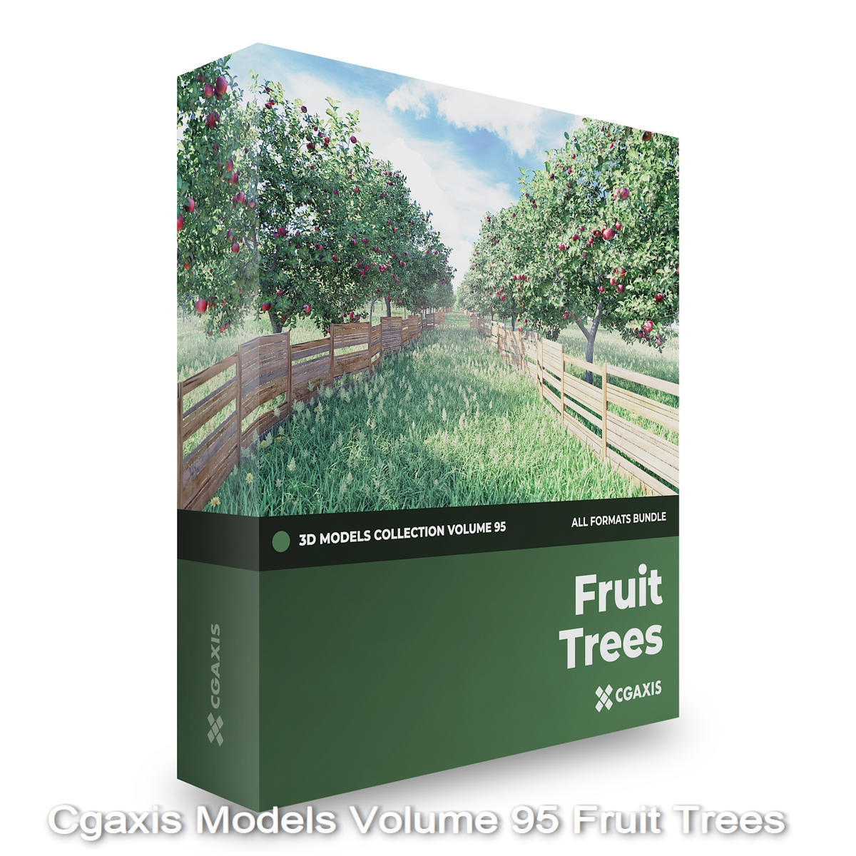 Download Cgaxis Models Volume 95 Fruit Trees