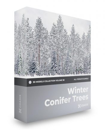 Download Cgaxis Models Volume 98 Winter Conifer Trees