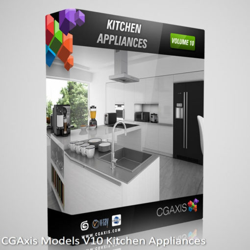Download CGAxis Models V10 Kitchen Appliances