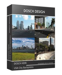 Download DOSCH HDRI: USA City Backplates