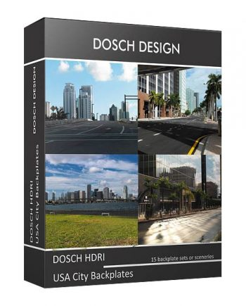 Download DOSCH HDRI: USA City Backplates