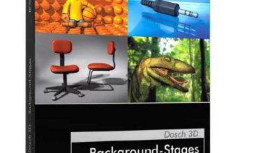 DOSCH 3D: Background-Stages free download