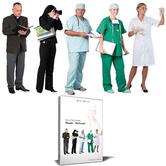 Download DOSCH 2D Viz-Images: People - Workwear