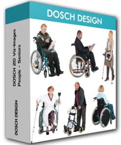 Dosch Design – 2D Viz People Seniors Handicapped
