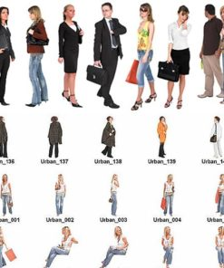 DOSCH 2D Viz-Images: People - Urban free download
