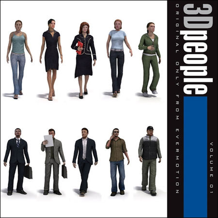 Download Evermotion 3D People vol.1