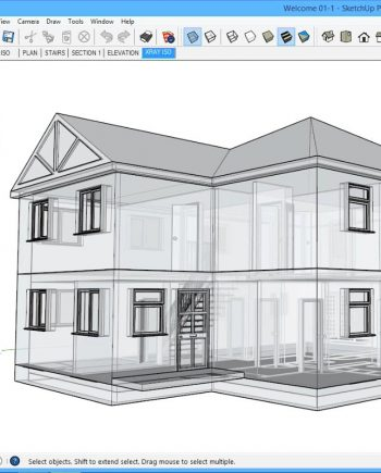 SketchUp for Architecture: Fundamentals