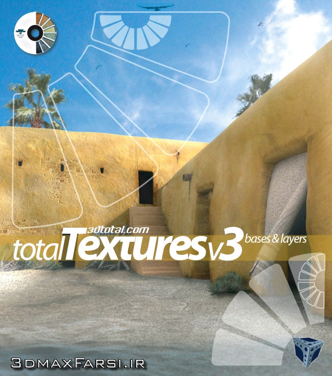 Photo of Total Textures V03R2 – Bases & Layers