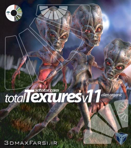 Download Total Textures V11R2 - Alien Organic