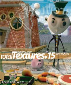 Download Total Textures V15R2 - Toon Textures