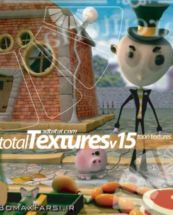 Download Total Textures V15R2 - Toon Textures