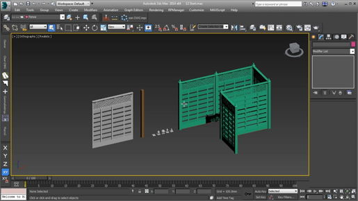3ds max Modeling Sharpening corners with Crease