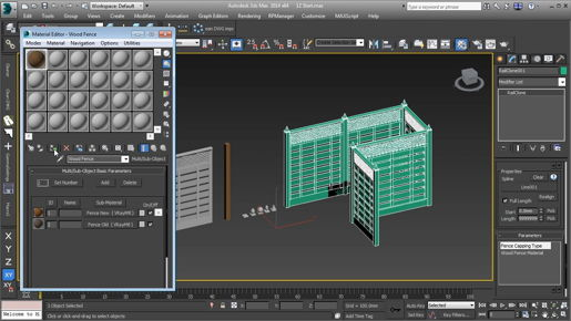 3ds max Modeling Baking subdivisions