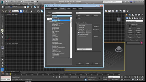 Setting brush options - 3ds max Freeform Modeling