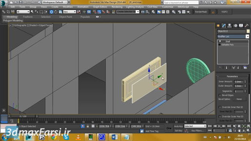 3ds max Hierarchies Prioritizing rotation axis