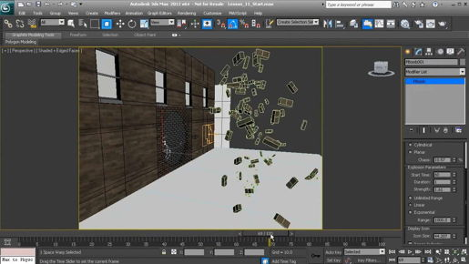 3ds max Transforming objects with Move and Rotate
