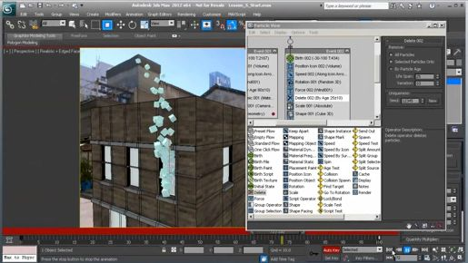 Manipulating 3ds max objects around a transform center