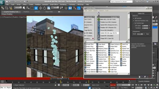how to Using the 3ds max Scene Explorer outline