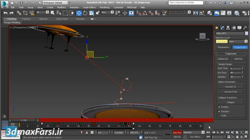 3ds max Spline Modeling Editing control vertex types