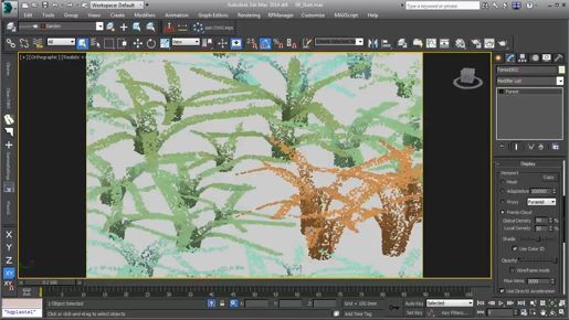 3ds max Polygon Modeling Branching with Editable Poly Extrude