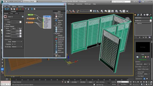 3ds max Polygon Modeling Constraining sub-object transforms