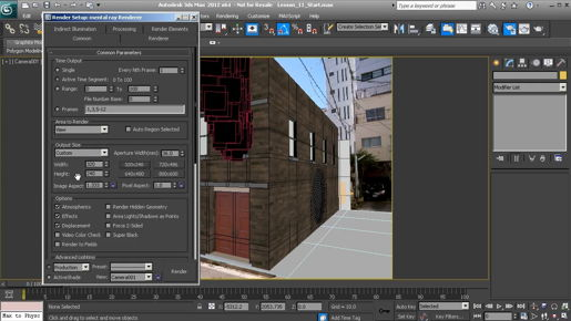 3ds max 2020 Shaping with Ribbon tools
