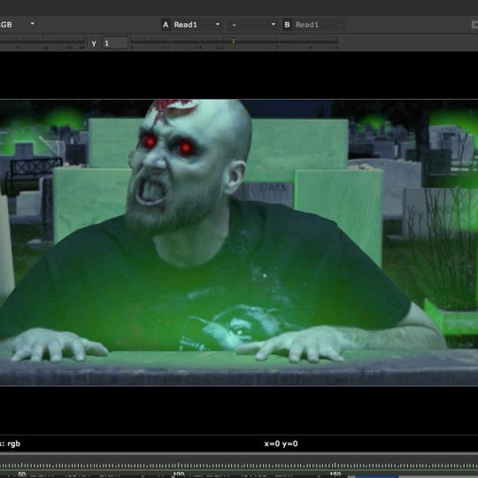 Compositing Zombies in NUKE : lynda download