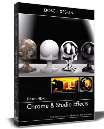 DOSCH HDRI: Chrome & Studio Effects V2 (download)