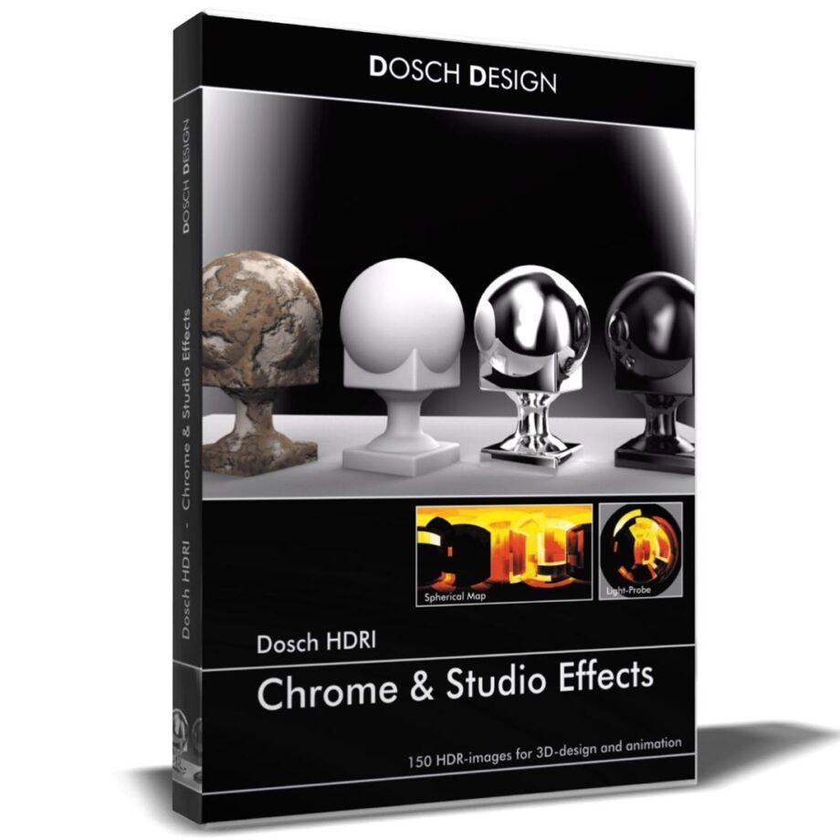 DOSCH HDRI: Chrome & Studio Effects V2 (download)