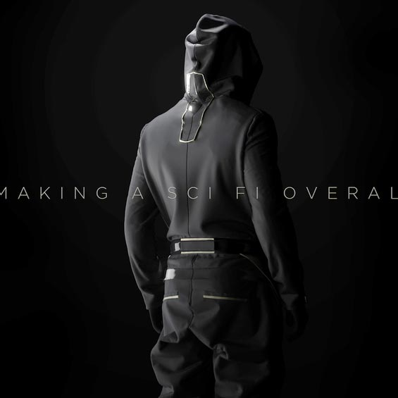 gumroad - making a sci fi overall in marvelous designer 6.5 Download